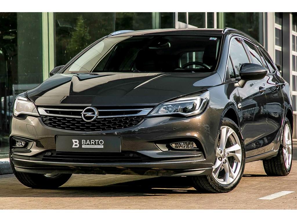 Tweedehands te koop: Opel Astra Grijs - ST - 14 Benz 125pk - Innovation - Camera - Navi - Aut inparkeren -