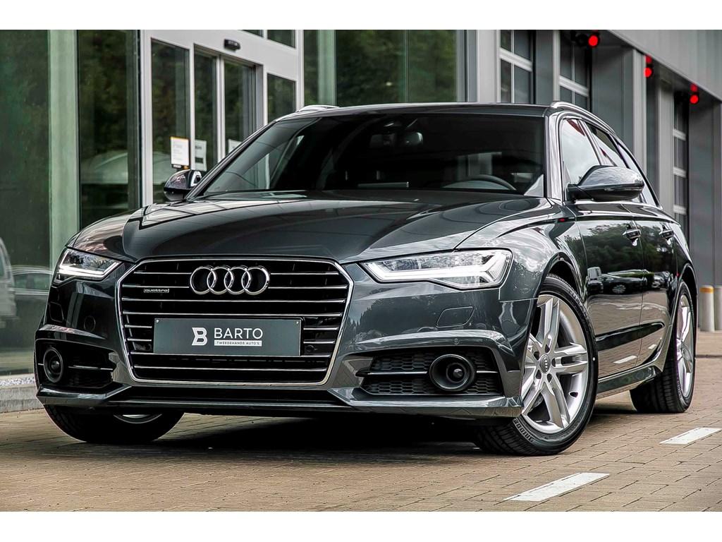 Tweedehands te koop: Audi A6 Anthraciet - Quattro - 190 pk - S line 3x - Full LED - Adapt CruiseContr -