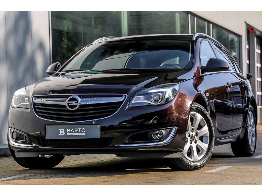 Opel-Insignia-Bruin-16d-120pk-Edition-Auto-Airco-Navi-Parkeersens-Bluetooth-