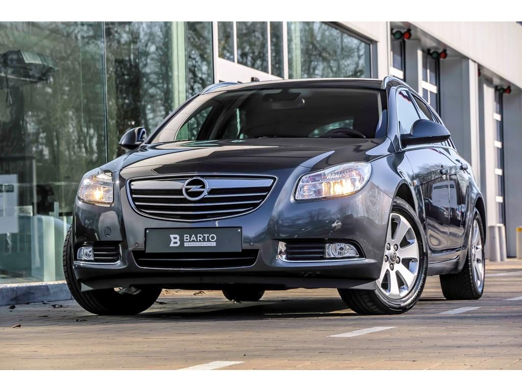 Tweedehands te koop: Opel Insignia Anthraciet - 20d 130pk - Navi - Auto Airco - Bluetooth - Elektr koffer -
