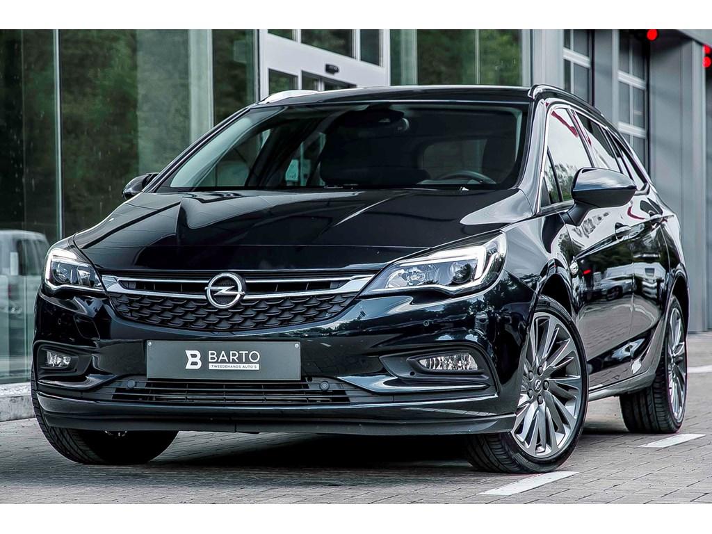 Opel-Astra-Groen-ST-14b-125pk-Innovation-Navi-Camera-Lane-ass-Aut-Parkeren-