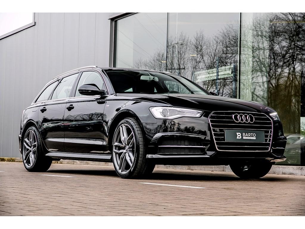 Tweedehands te koop: Audi A6 Zwart - Avant - S line - 20 wielen - Xenon - Sportzetels - Weinig kms