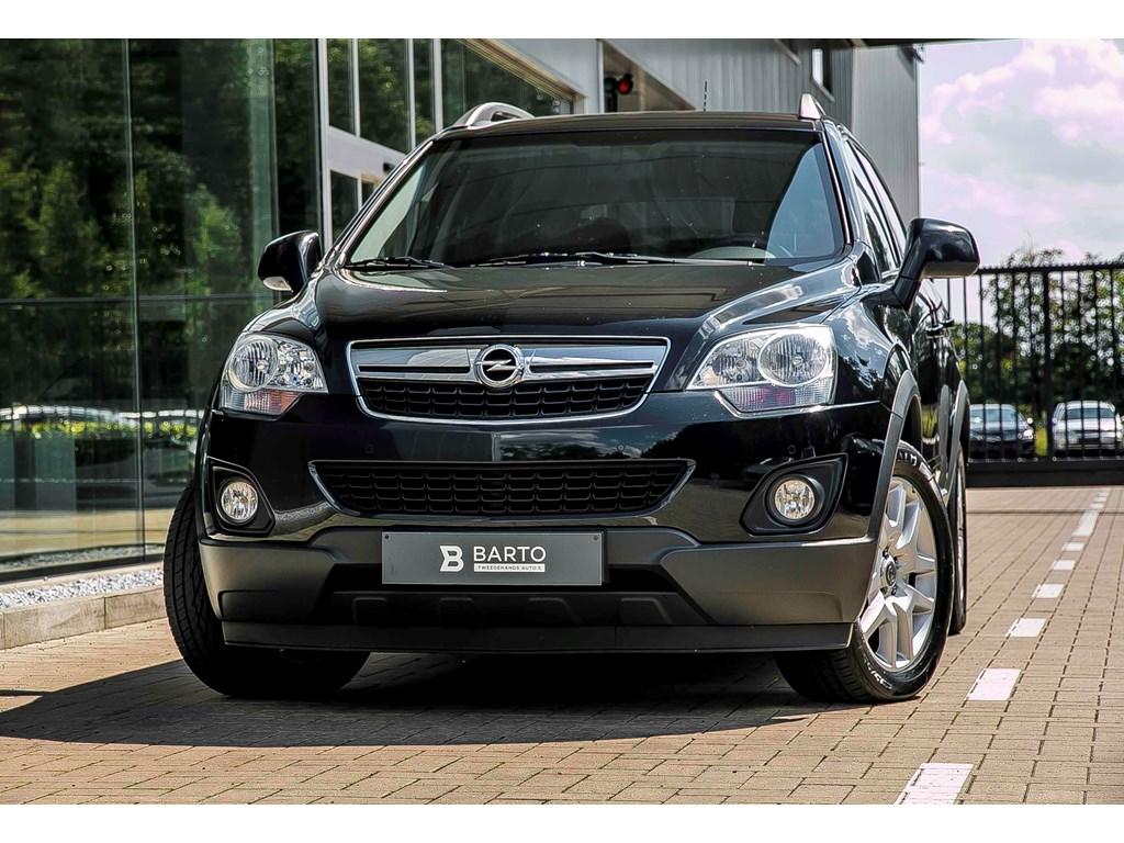 Tweedehands te koop: Opel Antara Zwart - 22d 163pk - 4X2 - Elektr verstelb Lederen Zetels - Navi - Airco -