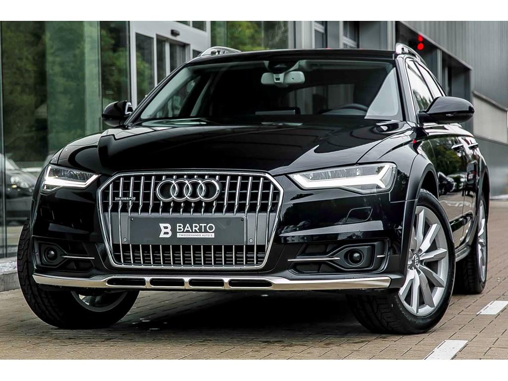 Tweedehands te koop: Audi A6 Zwart - Allroad - Full LED - Leder - Adapt CruiseCont - 19 wielen -