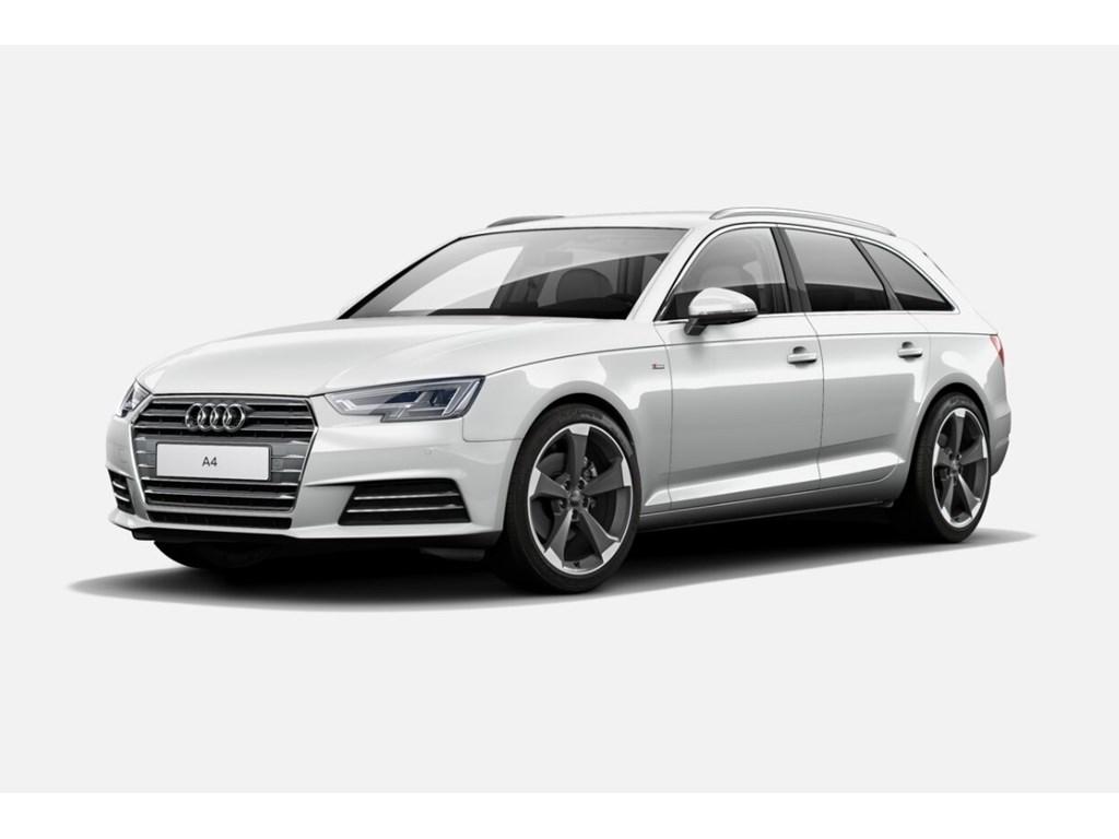 Tweedehands te koop: Audi A4 Wit - Sport - S-Line - Full LED - 19 Rotor - Sportzetels - Demo Wagen