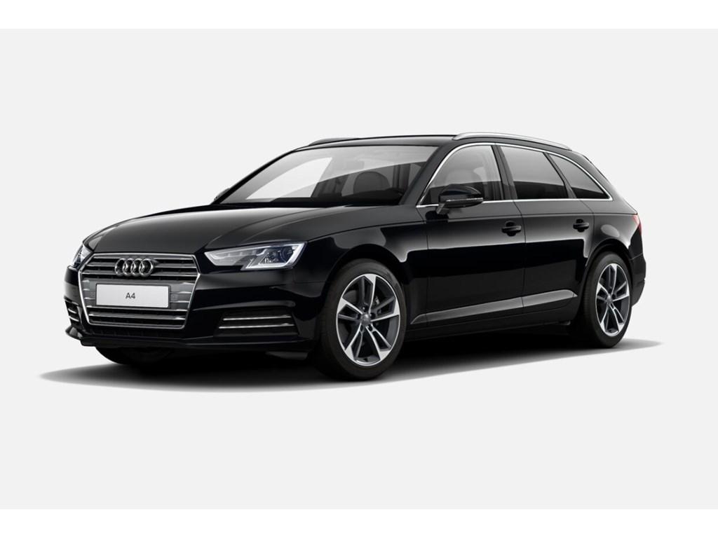 Tweedehands te koop: Audi A4 Zwart - Sport - S-tronic - Virt Cockpit - 18 Bicolor - Demo wagen - Promo