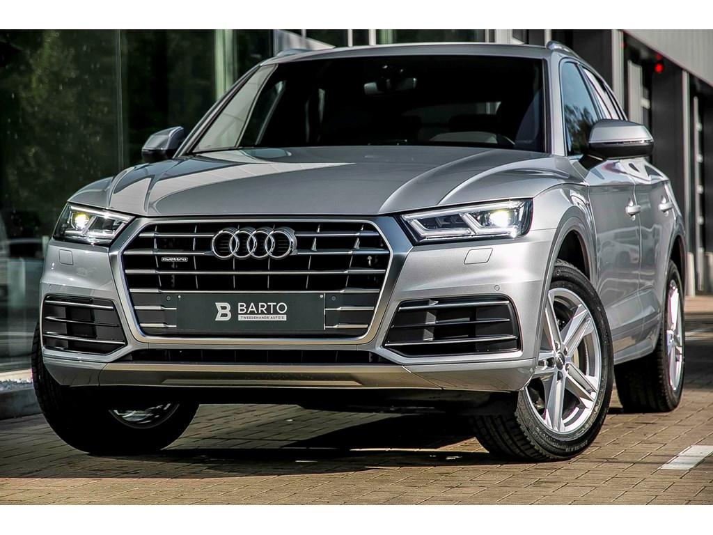 Tweedehands te koop: Audi Q5 New Grijs - Sport - 190pk - S-line - Virt Cockp - 19 - Electr koffer