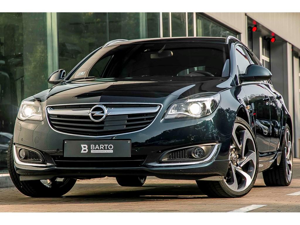 Tweedehands te koop: Opel Insignia Groen - 16T 170pk - OPC line int ext - Directiewagen - Xenon - electr koffer - digitale display