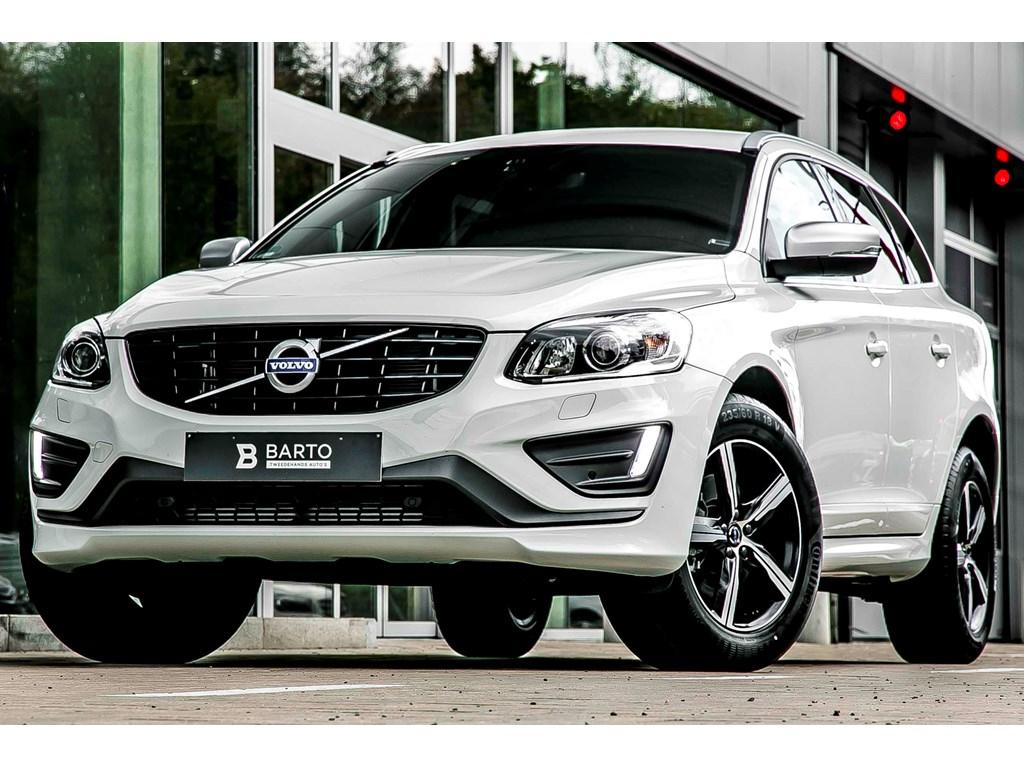 Tweedehands te koop: Volvo XC60 Wit - D4 - R-Design - Xenon - Automaat - Winterpack - Donker glas