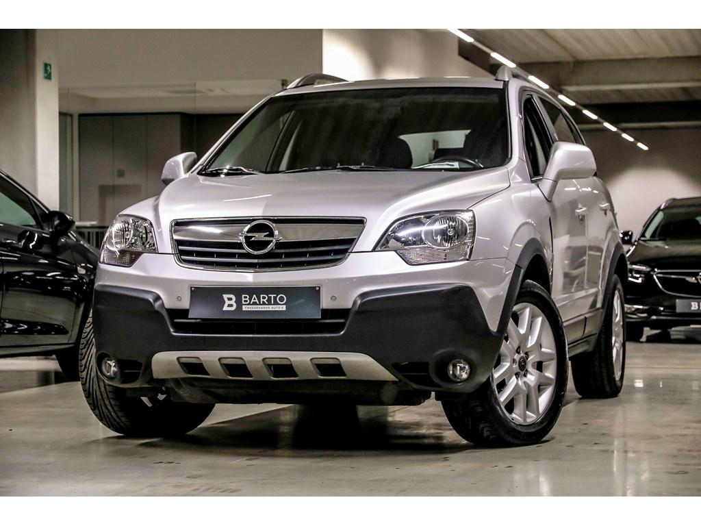 Opel-Antara-Zilver-20-126pk-Navi-Auto-Airco-Leder-Auto-Lichten-Bluetooth-