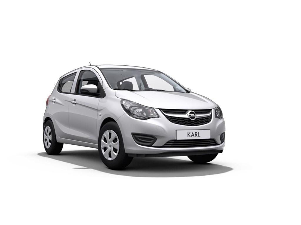 Opel-KARL-Zilver-10-Benz-Enjoy-Nieuw-