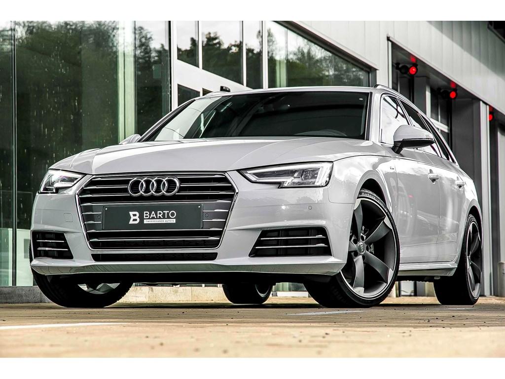 Audi-A4-Wit-Sport-S-Line-Full-LED-19-Rotor-Sportzetels-Demo-Wagen