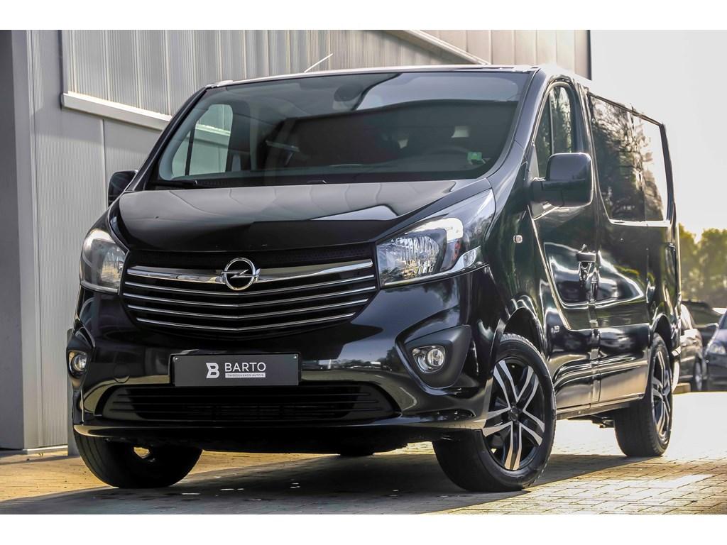 Tweedehands te koop: Opel Vivaro Zwart - 16d 116pk - Dubbel Cabine - Sport - Navi - AchteruitrijCamera - Airco -
