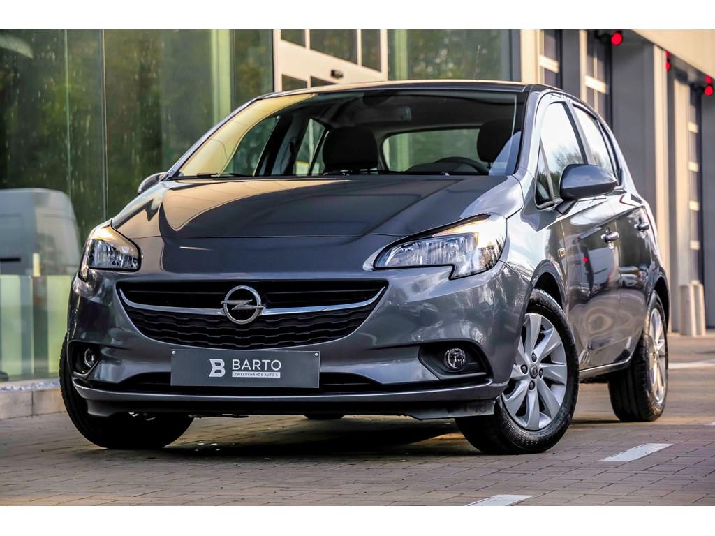 Tweedehands te koop: Opel Corsa Grijs - 12b 70pk - 5d - Intellilink - Airco - Auto lichten - Regensensor -