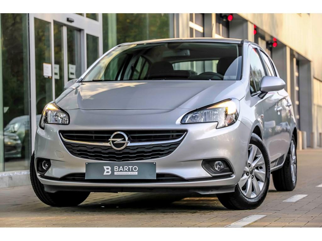 Tweedehands te koop: Opel Corsa Zilver - 12b 70pk - Intellilink - Airco - Bluetooth -