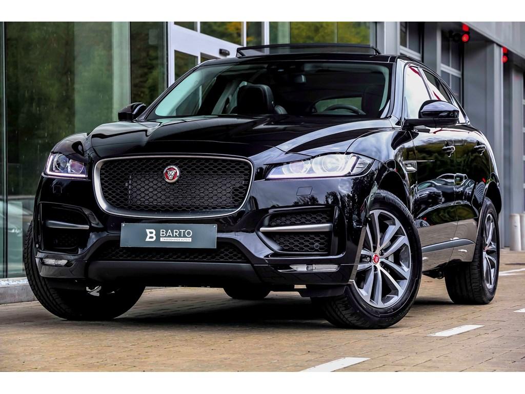 Tweedehands te koop: Jaguar F-Pace Zwart - R-Sport - Pano Open dak - Navi - Camera - NIEUW
