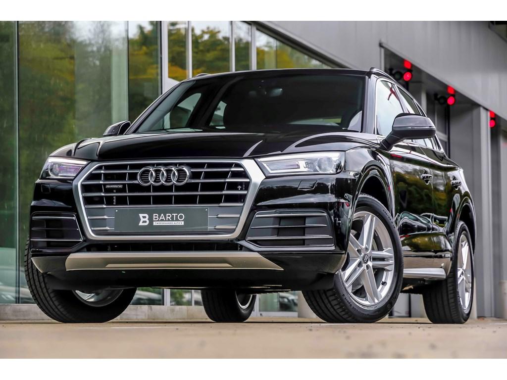 Tweedehands te koop: Audi Q5 New Zwart - S-line int ext - 190pk quattro - Panor Open dak - 19 wielen