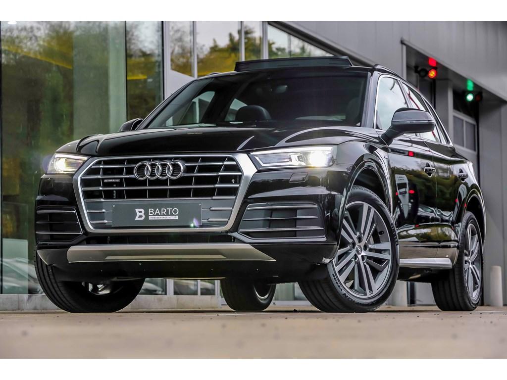 Tweedehands te koop: Audi Q5 New Zwart - S-line int ext - 20 Bicolor velgen - Panor Open dak - 190pk Quattro