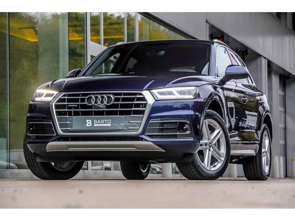 Tweedehands te koop: Audi Q5 New Blauw - Sport - 190pk - S-line - Virt Cockp - 360 cam - Adapt CC
