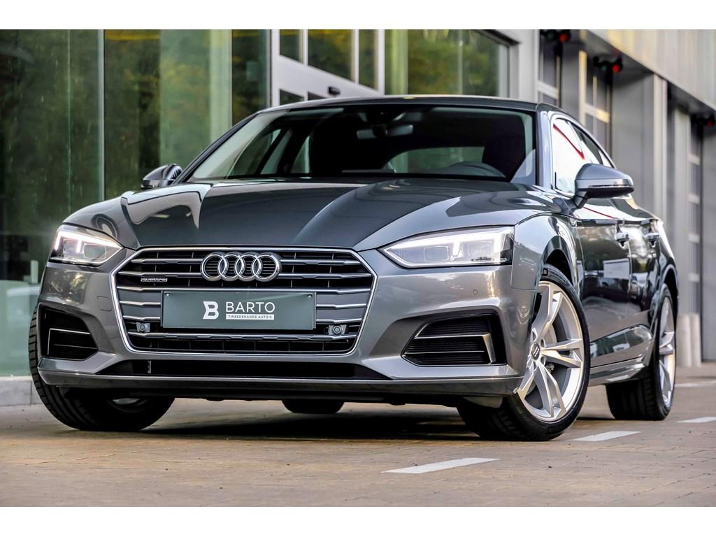 Audi-A5-Grijs-Sport-190-pk-Quattro-LED-MMI-plus-Leder-Camera-