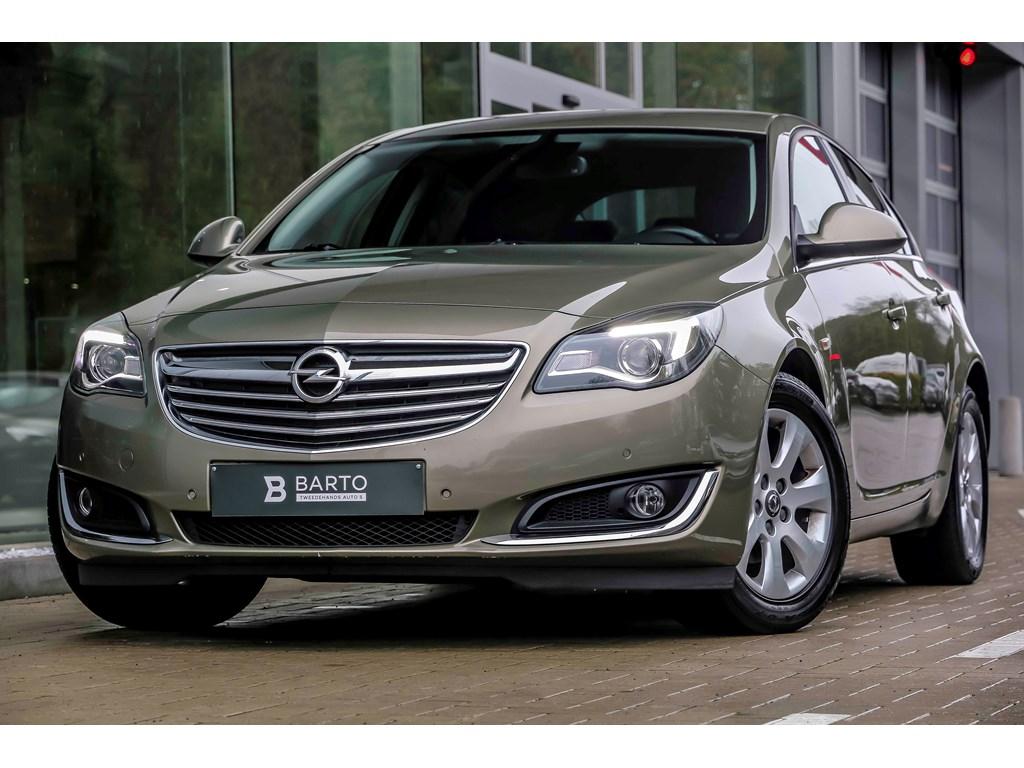 Tweedehands te koop: Opel Insignia Groen - 20d 140pk - 5deurs - Navi - Auto Airco - Bluetooth -