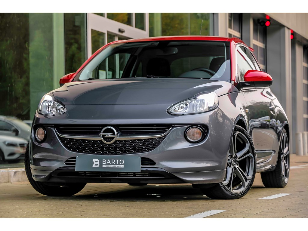 Opel-ADAM-Grijs-14T-150pkAdamSBiColorvelgAutoAirco