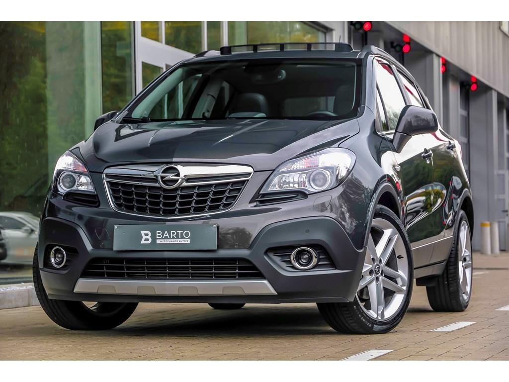 Tweedehands te koop: Opel Mokka Anthraciet - 14b 140pk - Cosmo - Navi - Achteruitrijcamera - Leder - Auto Airco -