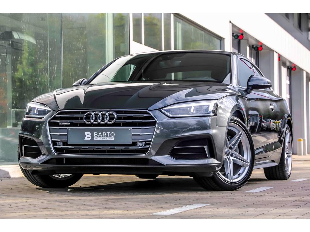 Tweedehands te koop: Audi A5 New Grijs - 190pk S-tronic - Quattro - S-line - Full LED -