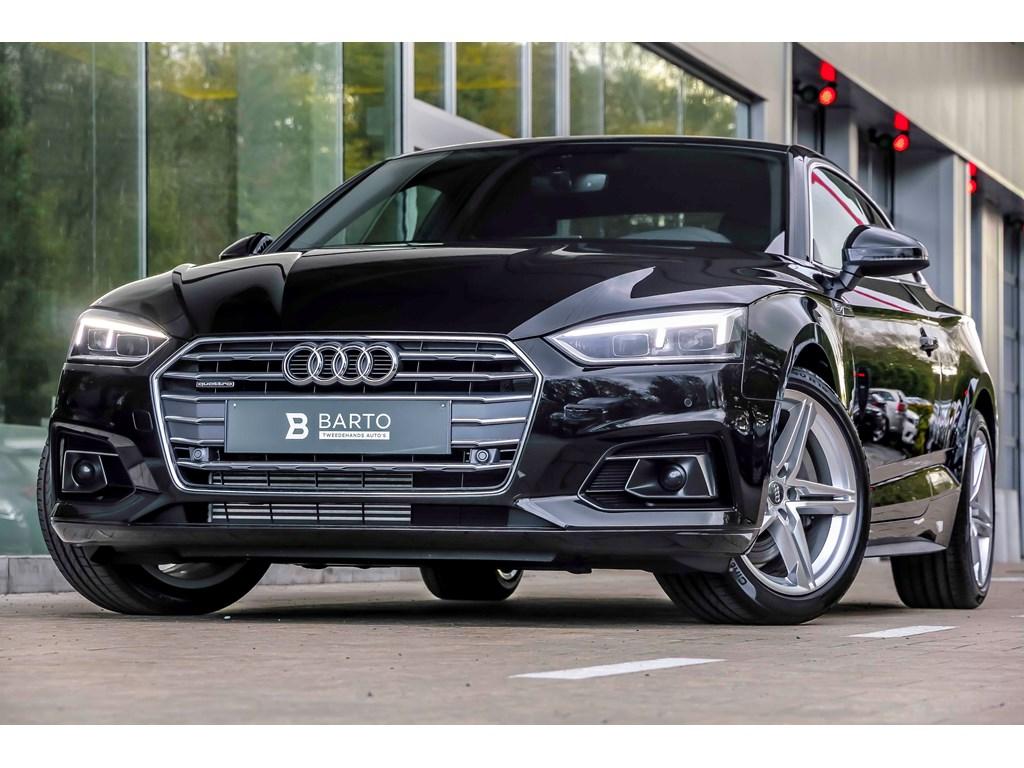 Tweedehands te koop: Audi A5 New Zwart - 20 TFSI 252pk - Quattro - Full S line - Virt Cockpit -