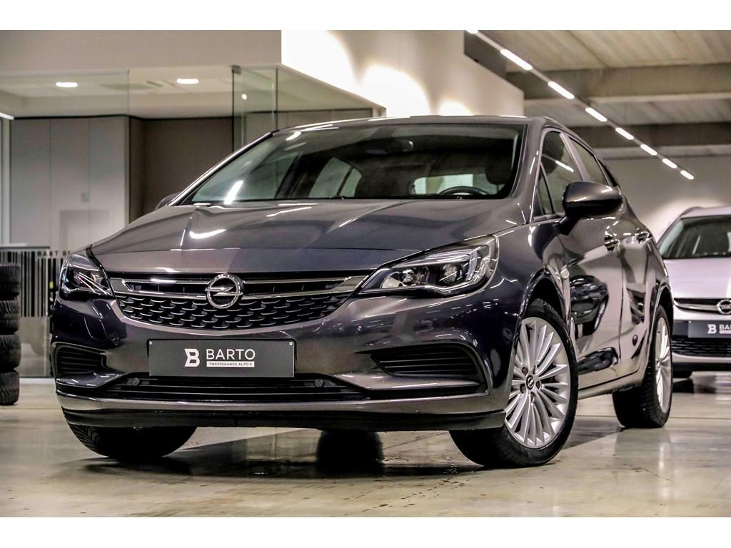 Tweedehands te koop: Opel Astra Anthraciet - 10 Turbo 105pk - Airco - Navigatie - Bluetooth - Auto Lichten - Regensens