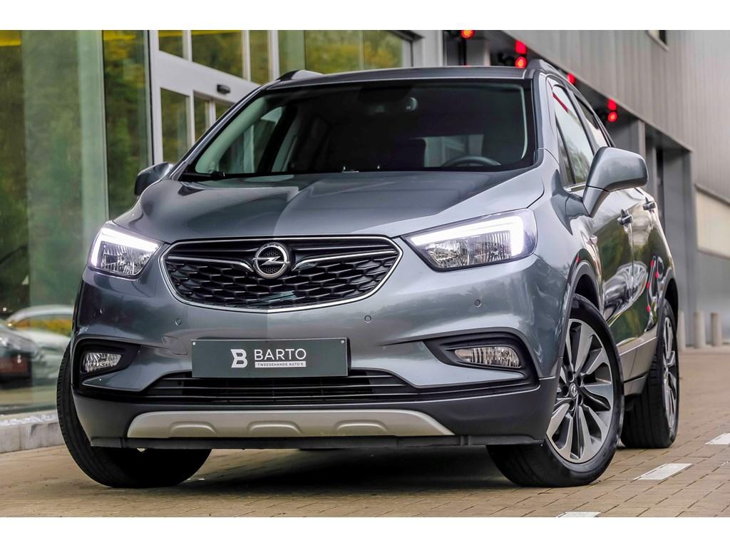 Tweedehands te koop: Opel Mokka Grijs - 14b 140pk - Innovation - Leder - Verwarmd stuurwielzetels - Auto Airco - Navi -