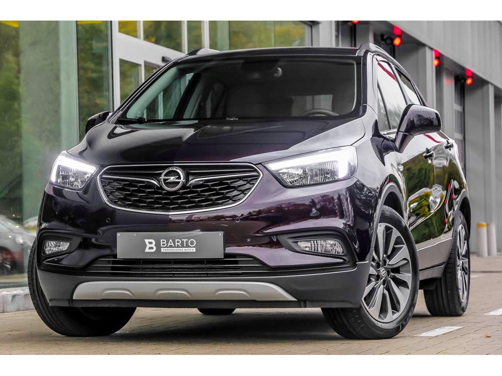 Tweedehands te koop: Opel Mokka Bruin - 14b 140pk - Innovation - Leder - Verwarmd stuurzetels - Navi - Auto Airco -
