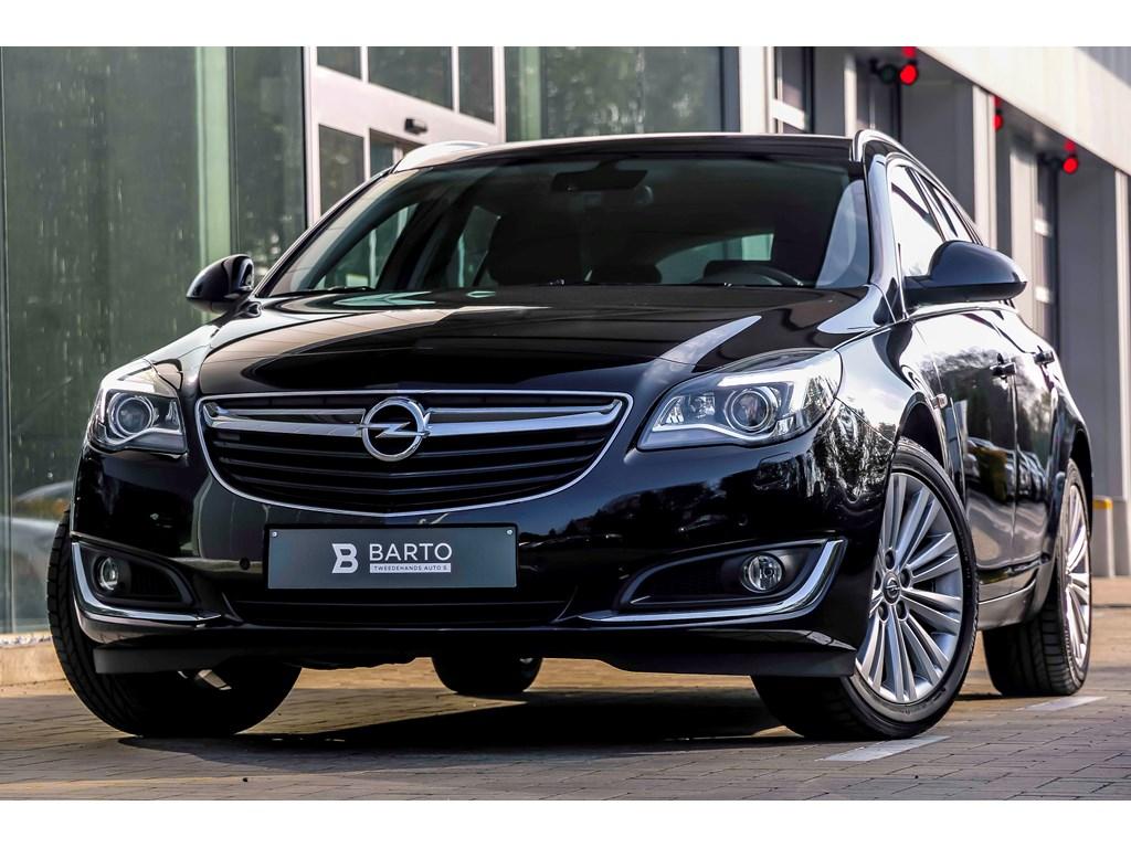 Tweedehands te koop: Opel Insignia Zwart - 16d 136pk - Automaat - Xenon - Erg Leder Zetels - Navi - Auto Airco -