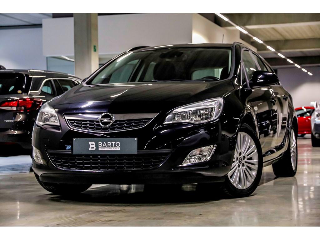 Tweedehands te koop: Opel Astra Zwart - ST - 13d 95pk - Airco - Bluetooth - Auto Lichten - Cruisecontr -