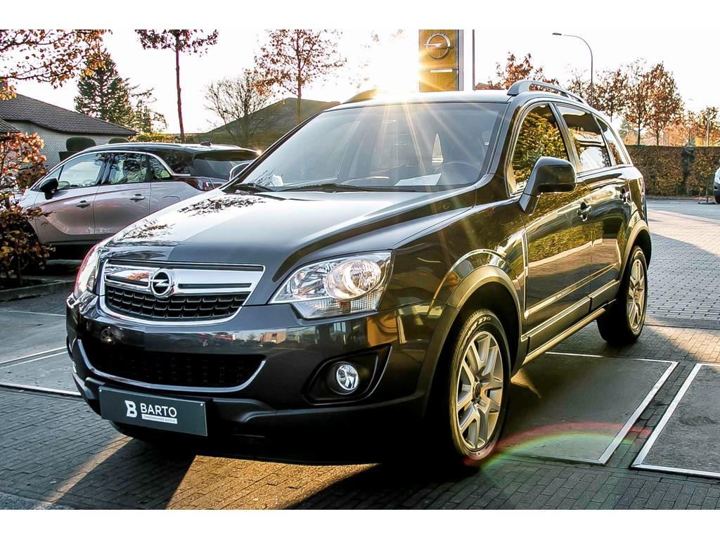 Opel-Antara-Grijs-163pk-Leder-Navi-Alu-velgen