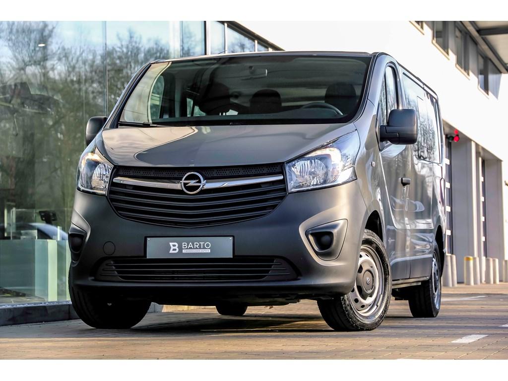 Tweedehands te koop: Opel Vivaro Grijs - 16 116pk - Combi - 9 zitplaatsen - Bluetooth -