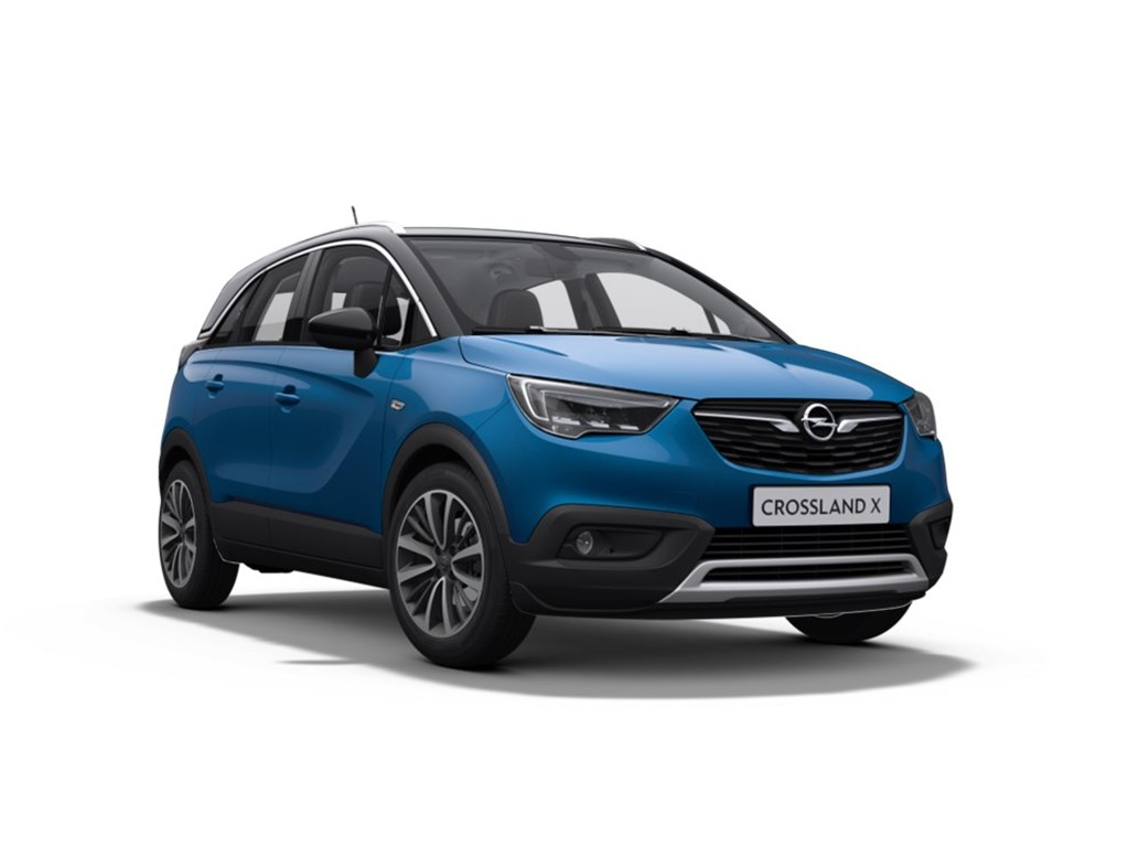 Tweedehands te koop: Opel Crossland X Blauw - Innovation 12 Turbo Benz manueel 5 - 110pk - Nieuw