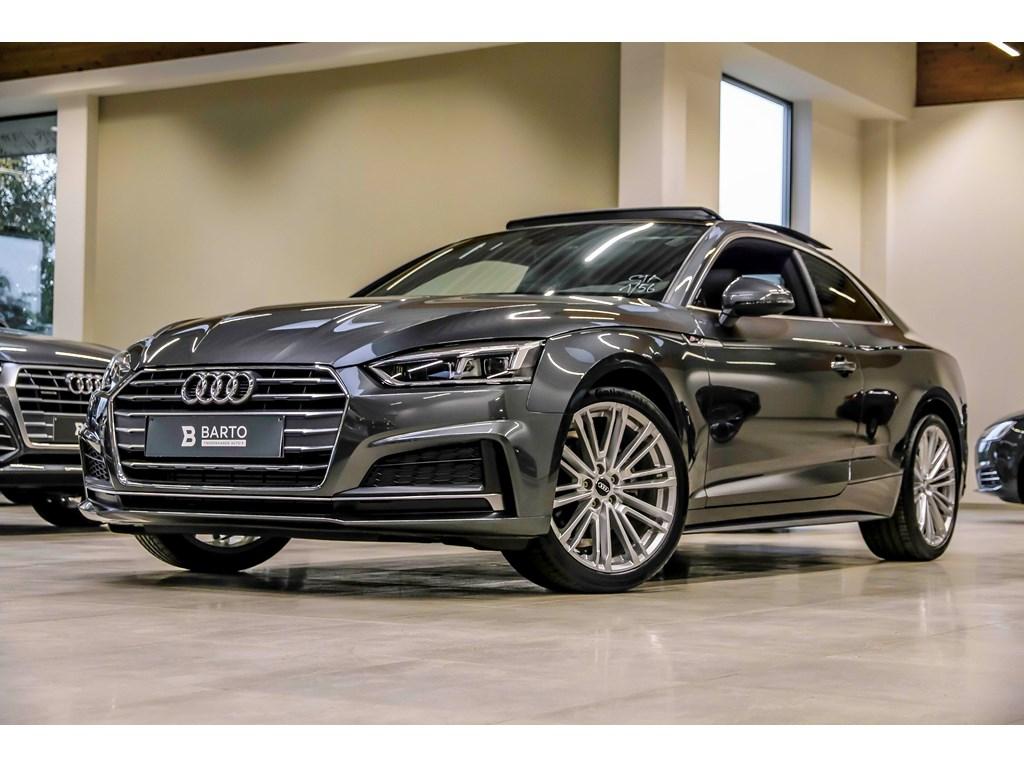 Tweedehands te koop: Audi A5 New Grijs - 20 TFSI - S line - RS zetels - Full LED - Open dak - Virt Cockpit - 19