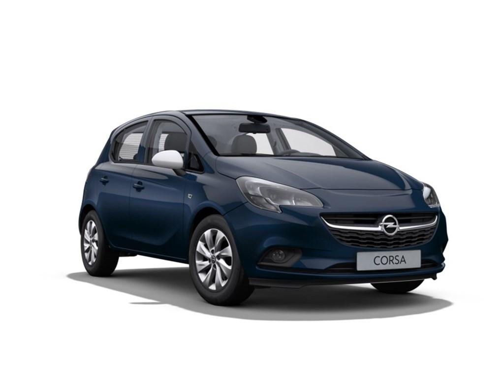 Tweedehands te koop: Opel Corsa Blauw - 5-Deurs 12 Benz Enjoy 70pk - Nieuw