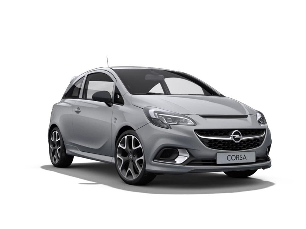 Tweedehands te koop: Opel Corsa Grijs - OPC 3-Deurs 16 Turbo 207pk - Manueel 6 versn - Nieuw - OPC Recaro sportstoelen - 18 inch velgen