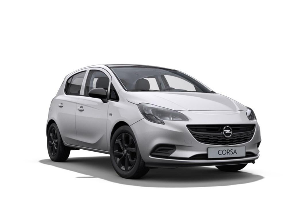 Opel-Corsa-Zilver-5-Deurs-Black-Edition-12-Benz-70pk-Nieuw-