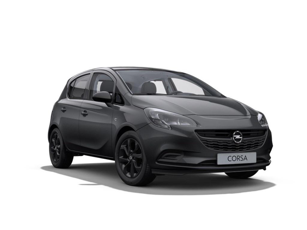 Tweedehands te koop: Opel Corsa Grijs - 5-Deurs Black Edition 12 Benz 70pk - Nieuw