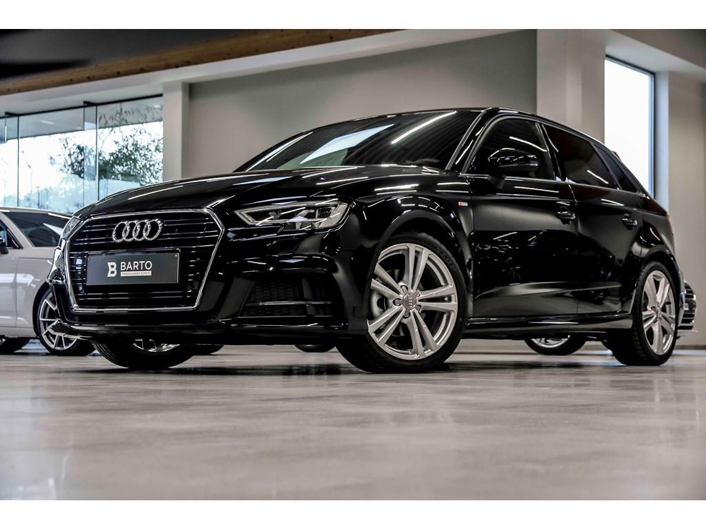 Tweedehands te koop: Audi A3 Zwart - 20 TDI Sport 150pk - S-line x3 - Full Led - Navi -