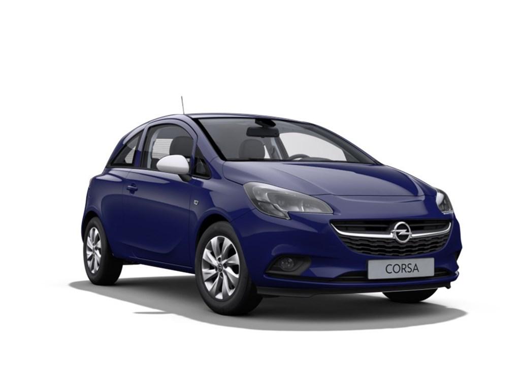 Tweedehands te koop: Opel Corsa Blauw - 3-Deurs Enjoy 12 Benz 70pk - Nieuw