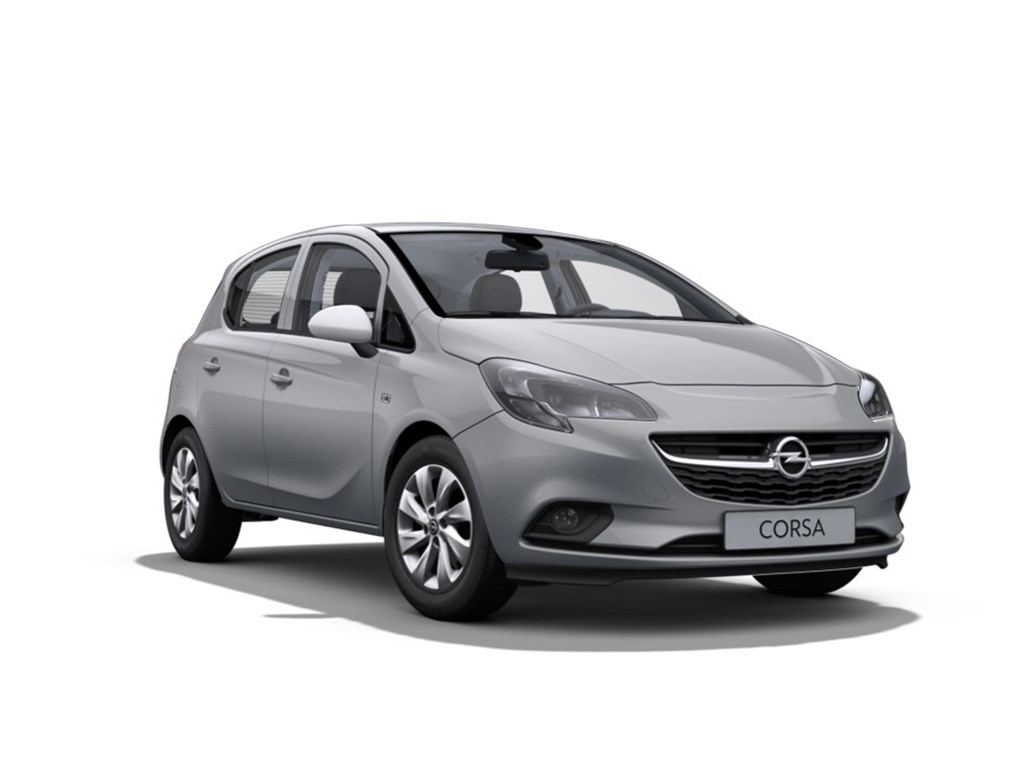 Tweedehands te koop: Opel Corsa Grijs - 5-Deurs 12 Benz Enjoy 70pk - Nieuw