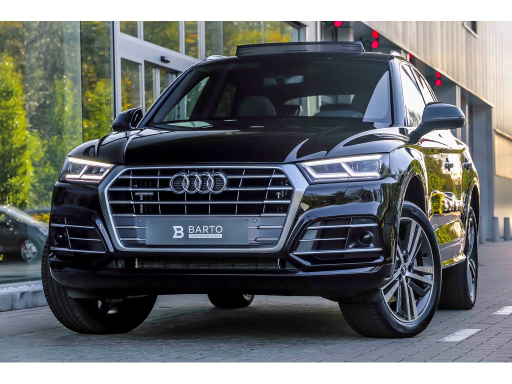 Tweedehands te koop: Audi Q5 New Zwart - RS zetels - Luchtvering - Pano open dak - matrix - BO Sound -