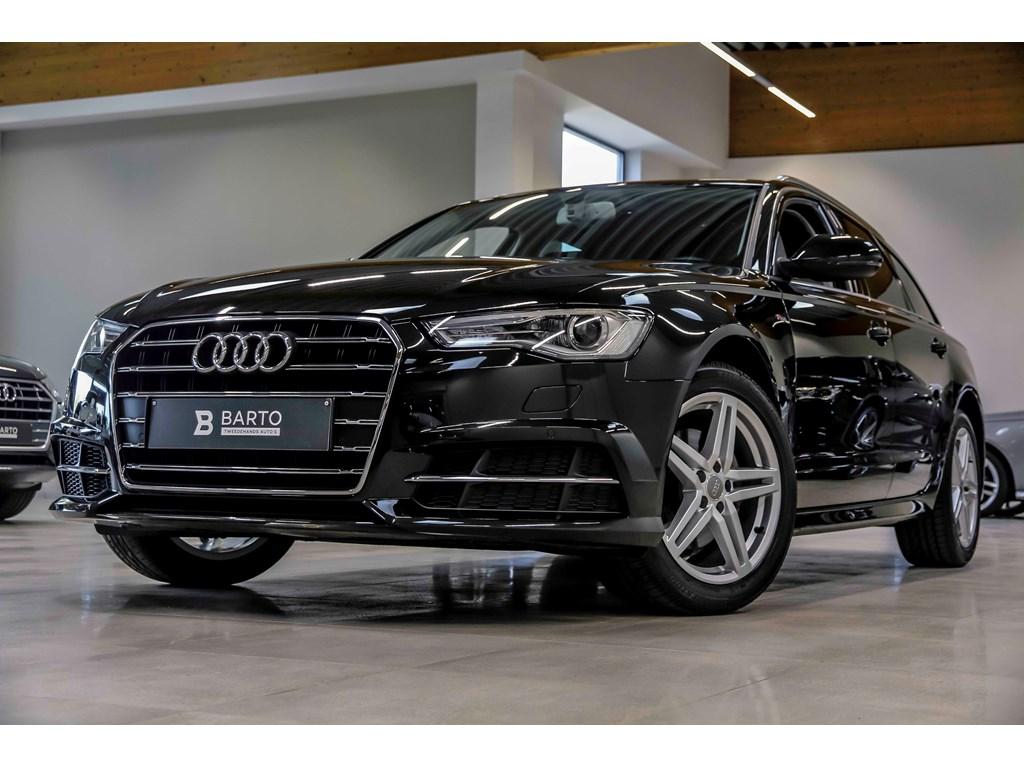 Tweedehands te koop: Audi A6 Zwart - S line - 190pk - 18 alu - Sportzetels - Privacy - Electr koffer