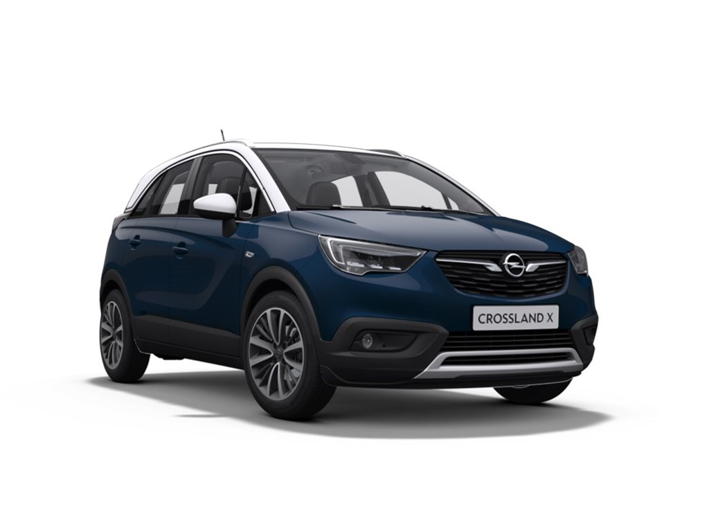 opel crossland x blauw innovation 1 2 turbo benz. Black Bedroom Furniture Sets. Home Design Ideas