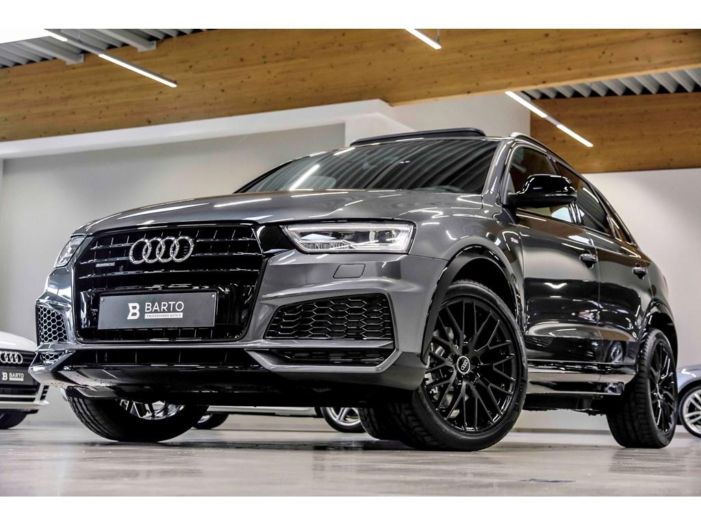Tweedehands te koop: Audi Q3 Grijs - 184hp - Quattro - Sline - Full LED - Panor dak - 19 black - Blackpack - NIEUW