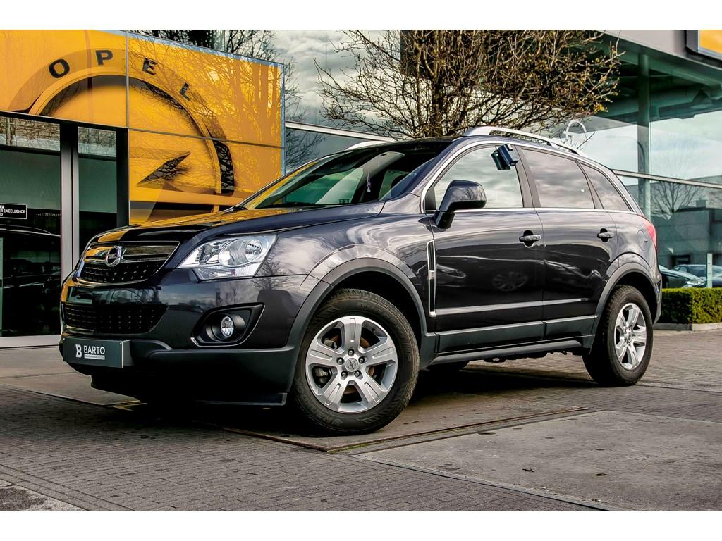 Tweedehands te koop: Opel Antara Zwart - 22d 165pk - Navi - Lederen interieur - Auto Airco - Weinig KMs